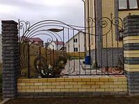 Кованый металлический забор под заказ в Херсоне