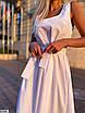 Платье макси из коттона, фото 3