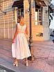 Платье макси из коттона, фото 4