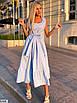 Платье макси из коттона, фото 5