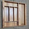 Лоток для столових приладів 400-490.400 ясен, фото 2