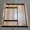 Лоток для столовых приборов  400-490.400 ясень, фото 3