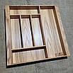 Лоток для столових приладів 400-490.400 ясен, фото 4