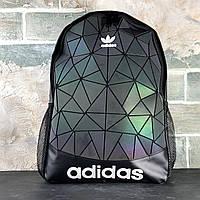 Рюкзак чорний Adidas 3D Urban Mesh Roll Up пазли. Міські Рюкзаки і спортивні. Рюкзаки чоловічі та жіночі
