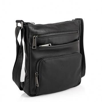 Чоловіча шкіряна сумка месенджер GA-1303-3md TARWA з кишенею