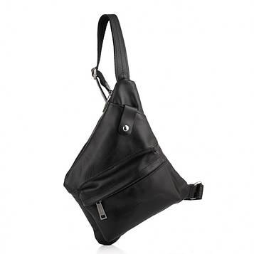 Кожаная сумка слинг, рюкзак через плечо GA-6501-3md бренд TARWA