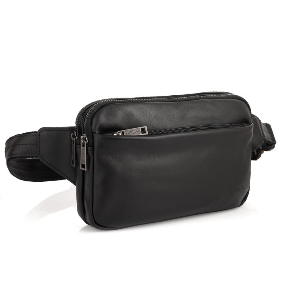 Напоясная сумка з натуральної шкіри GA-0741-3md TARWA