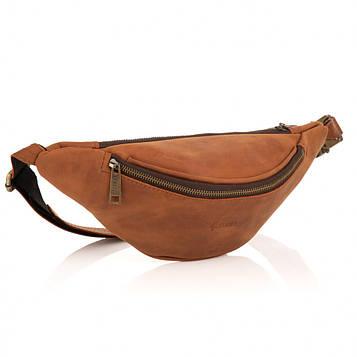 Кожаная сумка на пояс из натуральной кожи TARWA GB-3035-3md