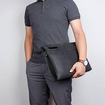 Шкіряна сумка-папка, портфоліо, органайзер, месенджер великий розмір John McDee A0011AL