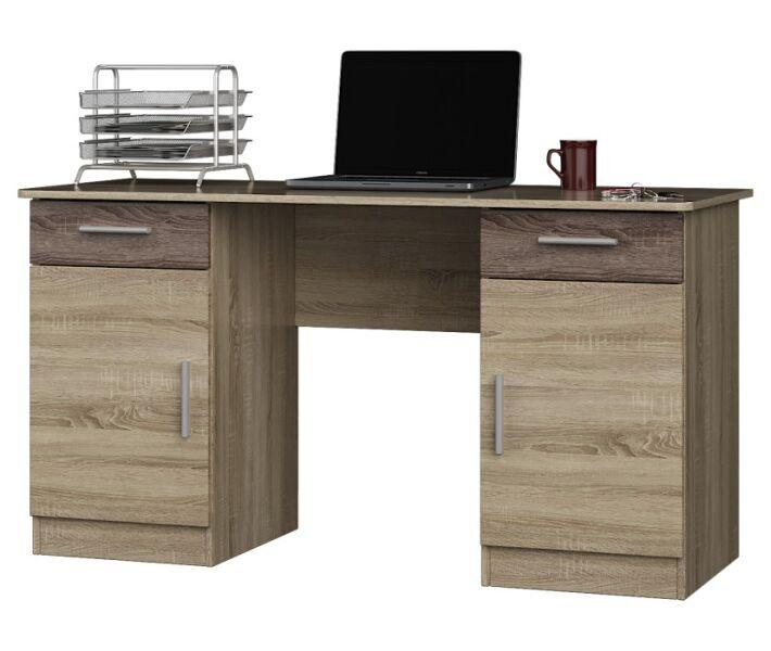 """Комп'ютерний стіл """"Вчитель"""" (1400х550х750) Дуб сонома Трюфель"""