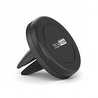 Автомобильный магнитный держатель для мобильного телефона Magnetic Car Air Vent Black