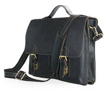 Чоловічий портфель з кінської шкіри, вінтажний дизайн 7090A