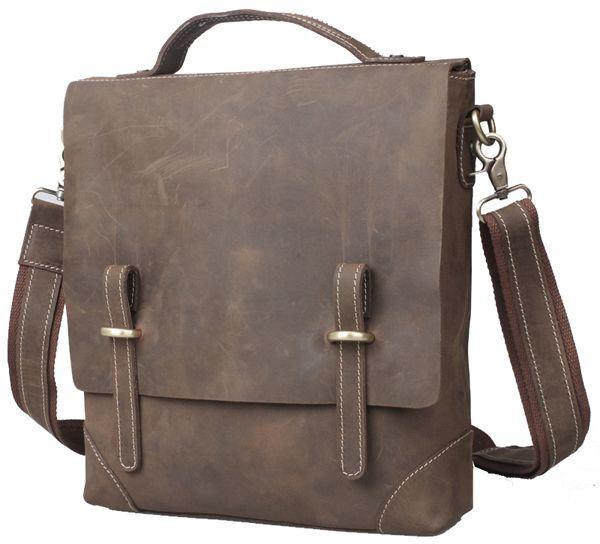 Вертикальная сумка из кожи, сумка планшет Tiding 3003