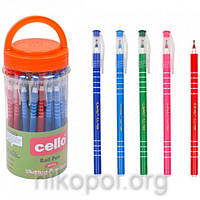 Ручка масляна Cello CL-168 синя, фото 1