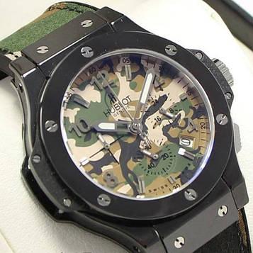 Hublot Geneve Green-Black Military