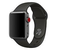 Ремінець для Apple Watch Silicone Band 38 mm Black, фото 1