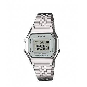 Casio LA680WA-7EF All Silver
