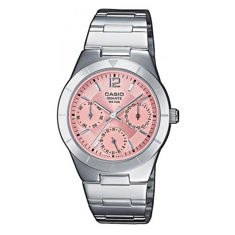 Casio LTP-2069D-4AVEG Silver-Pink