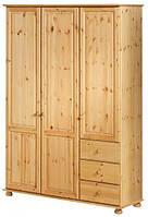 Шкаф из массива дерева 004