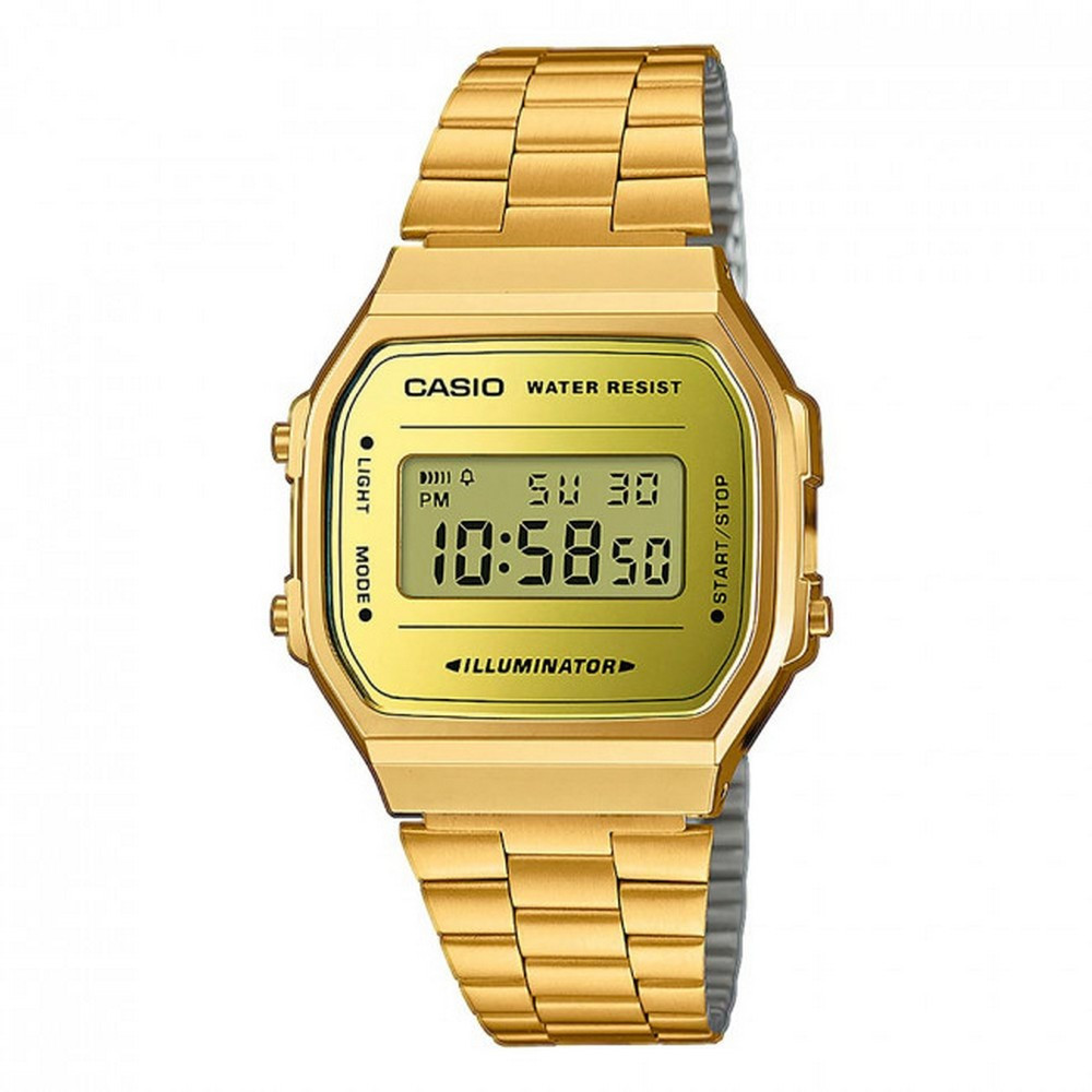 Casio A168WEGM-9EF Gold-Yellow
