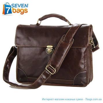 Популярний шкіряний портфель JD7091C в новій версії. Ексклюзив!