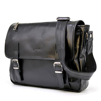 Мужская кожаная сумка через плечо GA-6046-3md TARWA