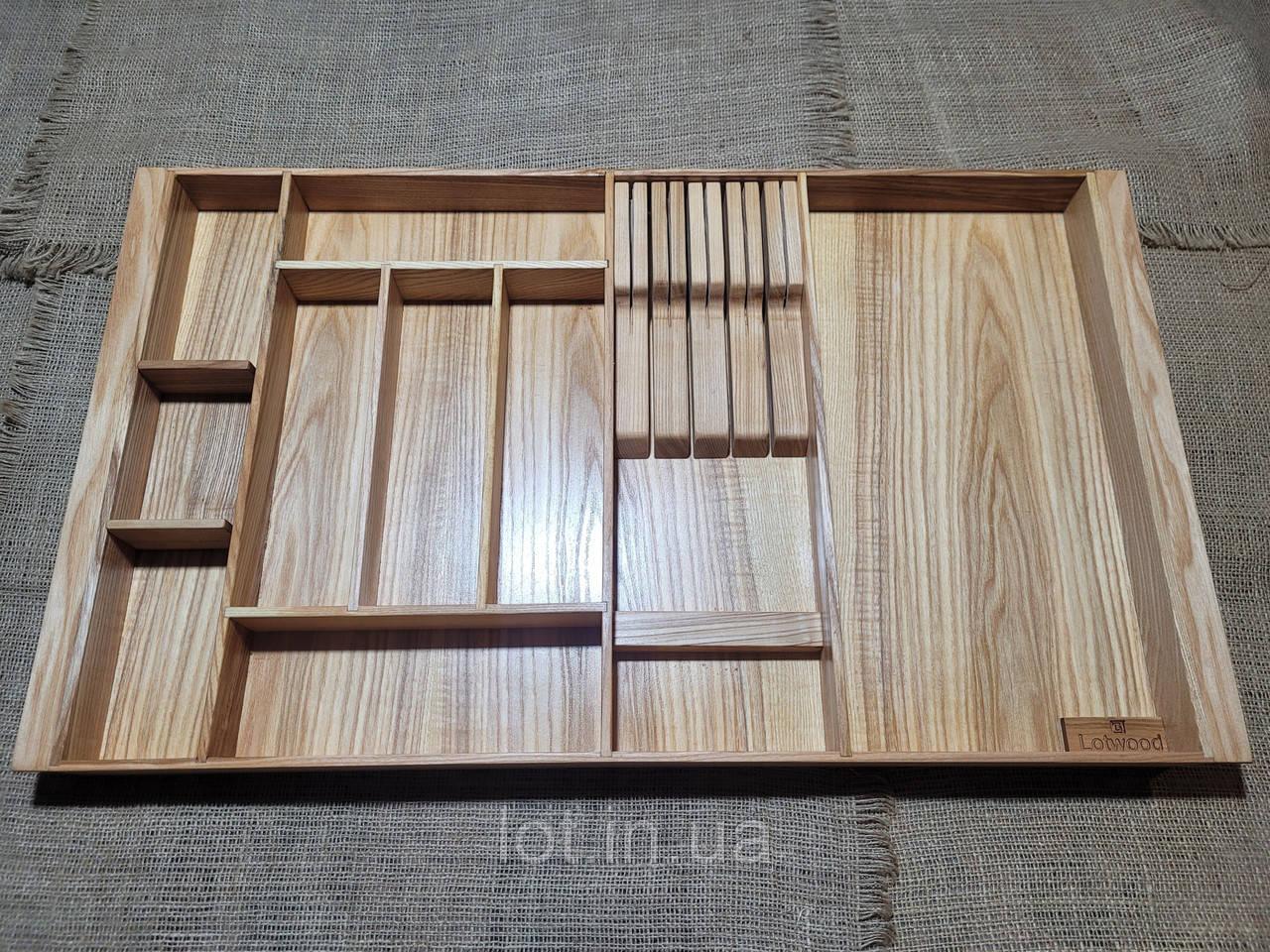 Лоток для столовых приборов PM720-810.400 ясень