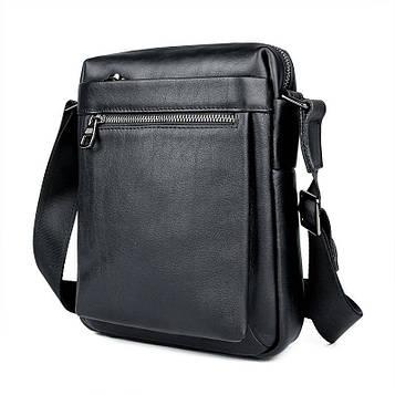 Мужская кожаная сумка мессенджер JD1051A John McDee