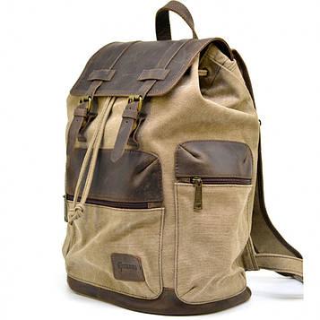 Вместительный рюкзак из парусины и кожи RSc-0010-4lx от бренда TARWA