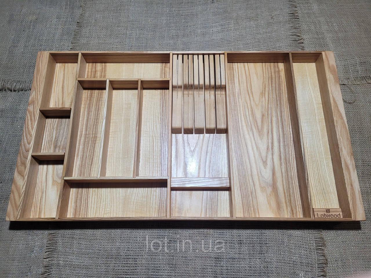 Лоток для столовых приборов PM760-850.400 ясень