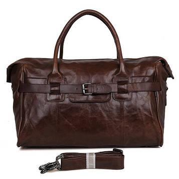 Велика шкіряна сумка, теляча шкіра, вінтажна фактура 7079Q
