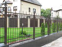 Забор кованый заказать в Херсоне