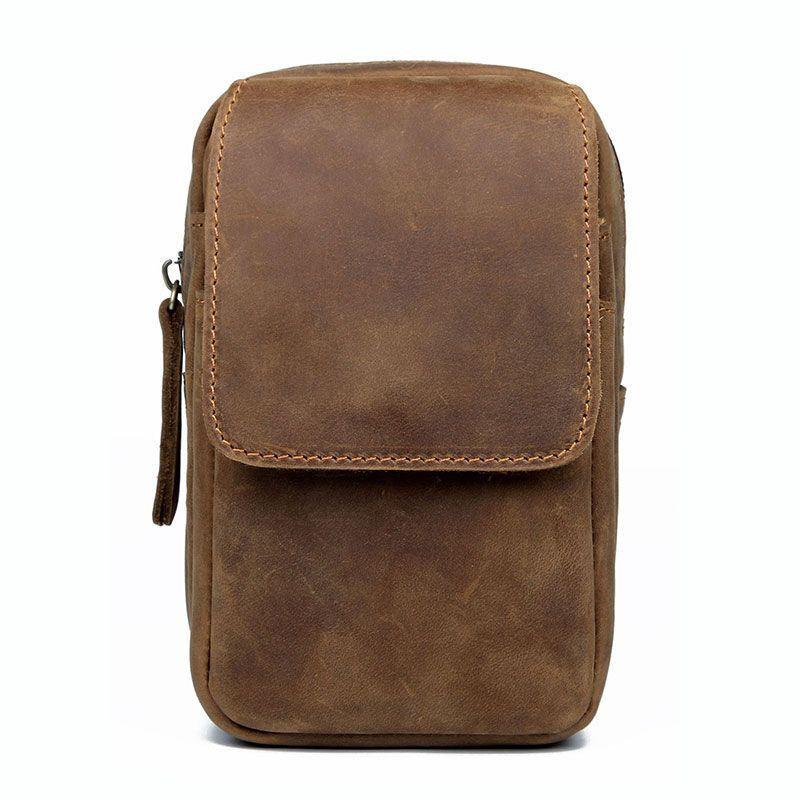 Кожаная сумка для мобильного телефона для мужчин JD5006B