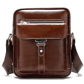 Мужская сумка мессенджер из натуральной кожи BD10-8516