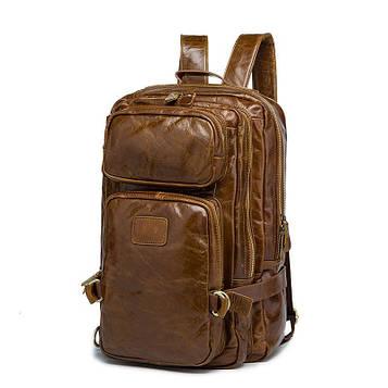 Мужской рюкзак из винтажной кожи B10-8856 Joynee