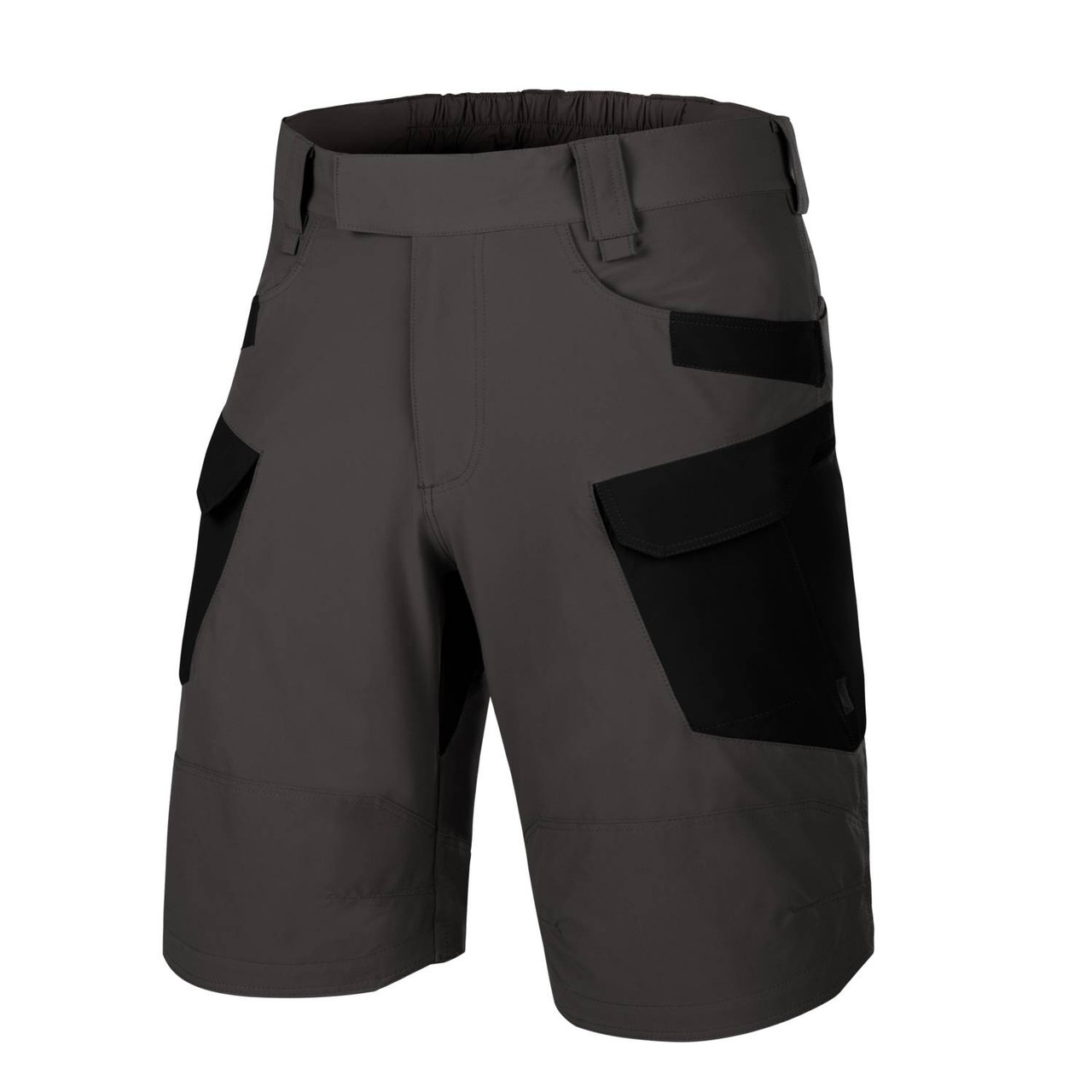 "Шорты Helikon-Tex® OTS (Outdoor Tactical Shorts) 11""® - VersaStrecth® Lite - Ash Grey/Black"