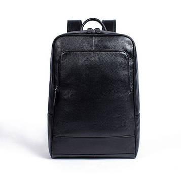 Увеличенный рюкзак из натуральной кожи B10-8110 черный
