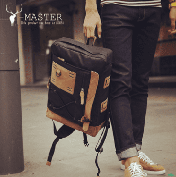 Городской тканевый рюкзак для мужчин YBP-002bl Y-Master