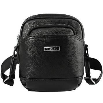 Маленькая мужская сумка 2356LH Tiding из натуральной кожи