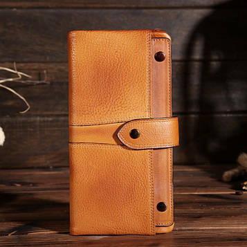 Оригінальне шкіряне портмоне, колір рудий, Bexhill bx3060
