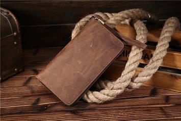 Фірмовий чоловічий клатч, колір коричневий, Bexhill bx8801
