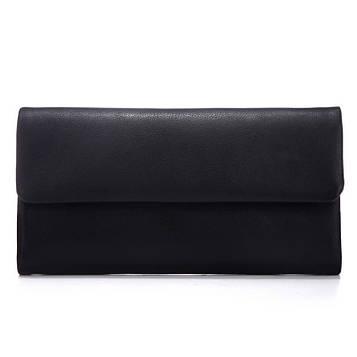 Шкіряний чоловічий клатч-портмоне колір чорний, Bexhill bx3454