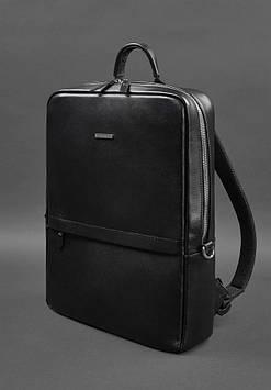 Мужской кожаный рюкзак FOSTER BN-BAG-39-g черный от BlankNote