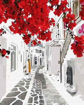 """Картина за номерами """"Квітуча Греція"""""""