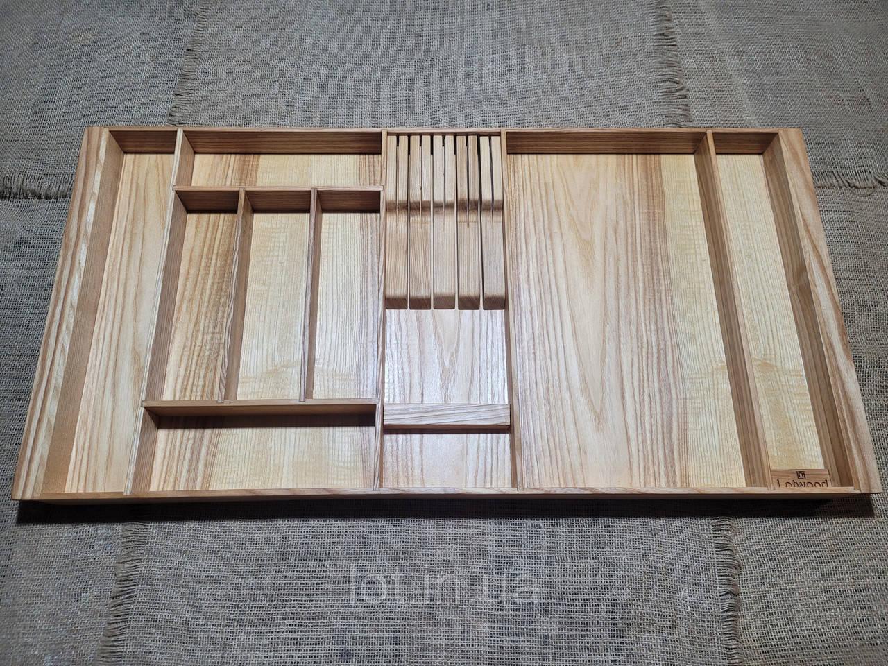 Лоток для столовых приборов P840-930.400 ясень