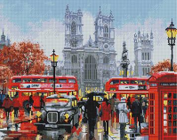 """Алмазна мозаїка """"Дощовий Лондон"""""""