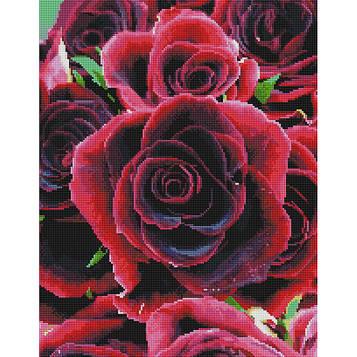 """Алмазна мозаїка """"Червоні рози"""""""