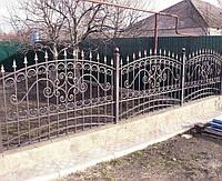 Кованый забор цена за погонный метр Херсон