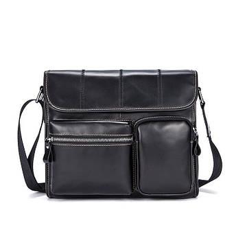 Мужская сумка через плечо B10-380, черная