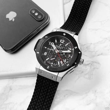 Hublot 5829 Chronograph Ceramica Black-Silver-Black